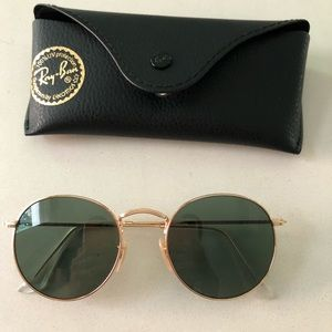 Ray-Ban Round Metal sunglasses RB3447